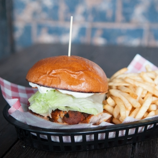 BBQ Ckn Burger